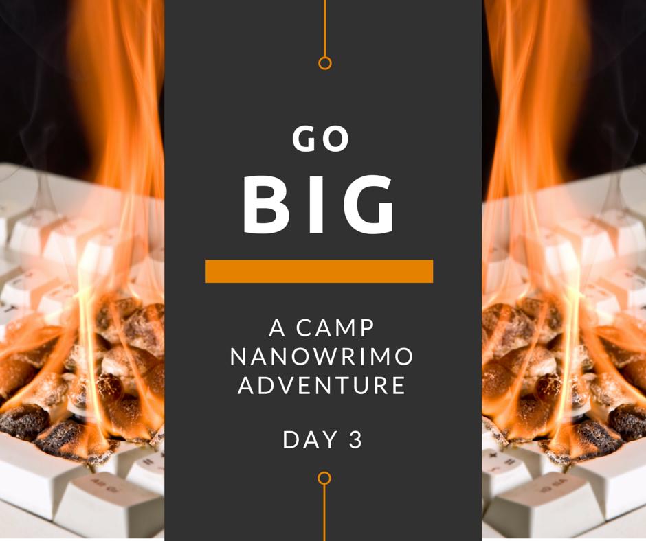 Go Big Day 3 - Burning Keyboard